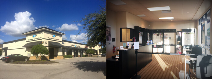 Outside and inside of the Kissimmee location