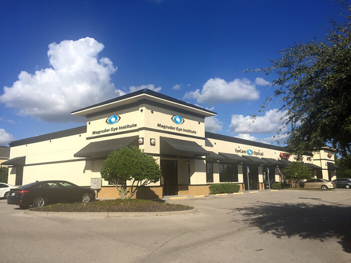 Outside of the Magruder Kissimmee Location