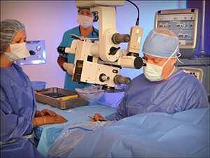 Orlando Eye Doctor Michael P. Graham, M.D. performing Cataract Surgery